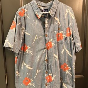 Jack O'Neill printed short sleeve button down